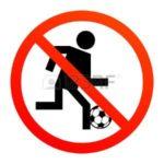 Arrêt des matchs et des entrainements de football